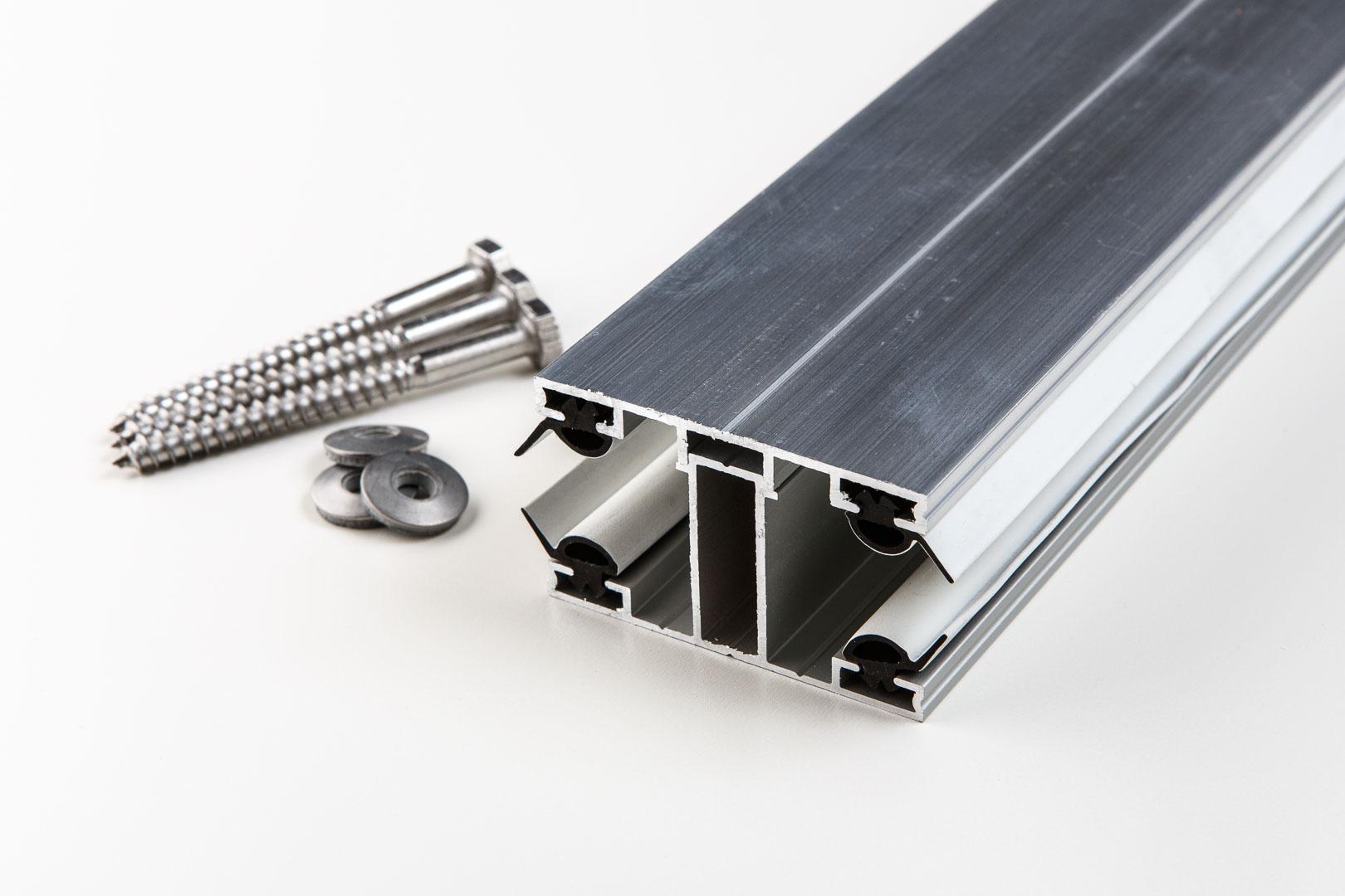 Aluminium Mittelprofl komplett