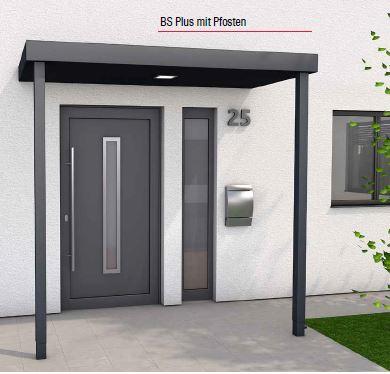 Typ BS Plus 2 Pfosten & integriertes Entwässerungssystem