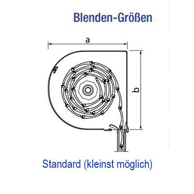 Standard (kleinst möglich)
