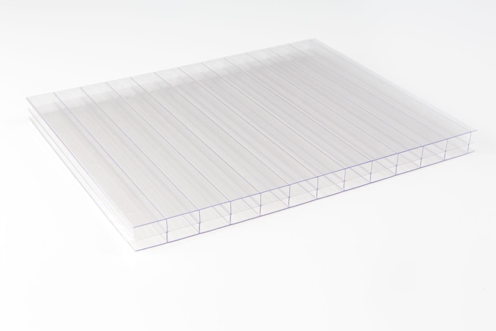 Polycarbonat Dreifachsteg 16mm