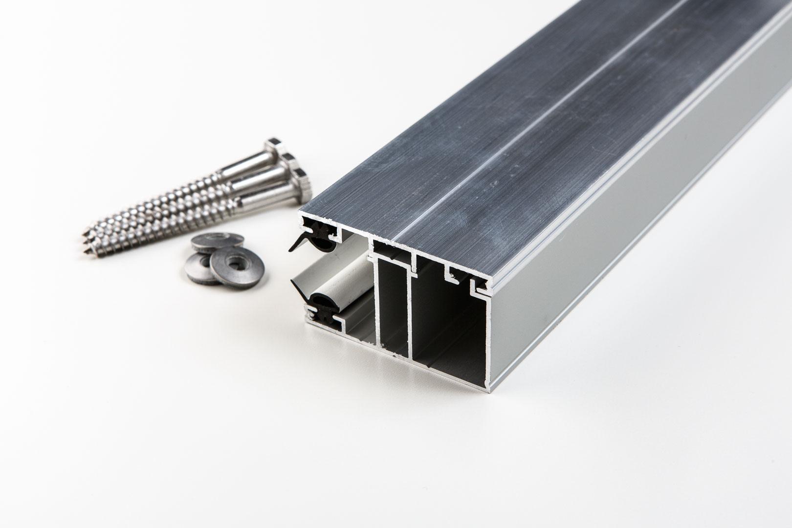 Aluminium-Randprofil komplett